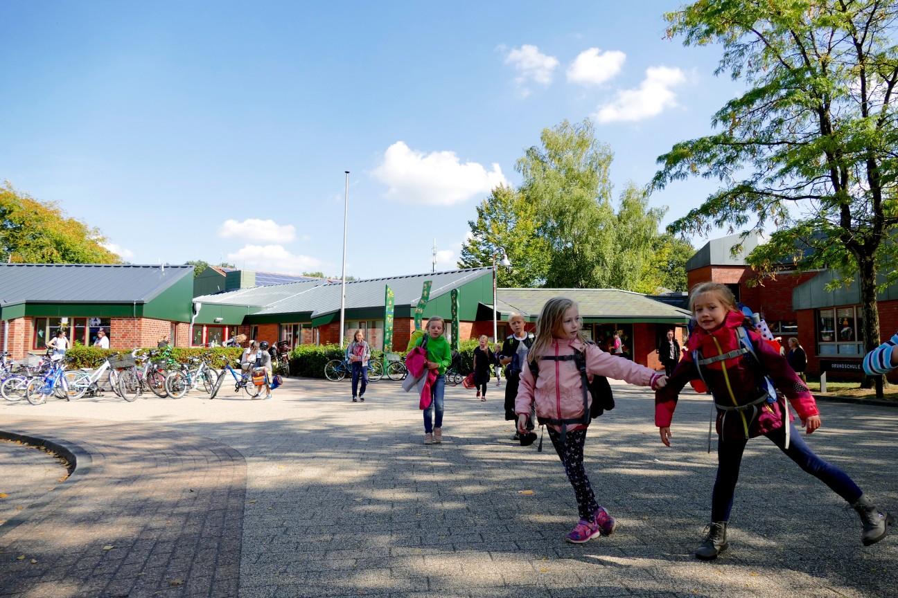 Die Grundschule Bookholzberg wurde 1981 gebaut.